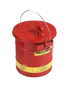5 Gallon Red Steel Portable Mixing Tank