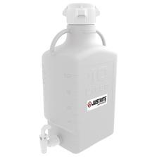 Carboy with Spigot, 10L, High Density Polyethylene (HDPE), 83mm cap