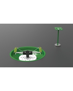 Laboratory Eyewash Station, Table Mount, Stainless Steel Pipe, Open Stainless Steel Bowl