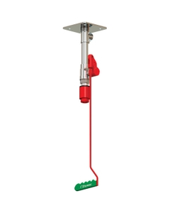 Drench Safety Shower, Ceiling Mount, Stainless Steel Pipe