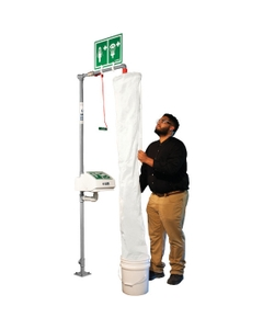 Safety Shower Test Kit w/ Bucket and Shower Sock