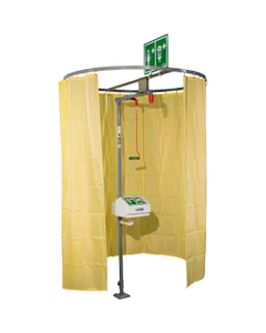 afety Shower Modesty Curtain, Pipe Mounted