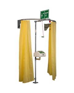 Safety Shower Modesty Curtain, Wall Mounted