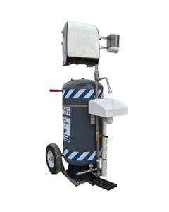 30 Gallon Mobile, Self-Contained Hand Wash Station