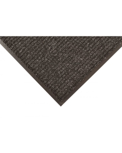 3' x 5' Charcoal Carpeted Entrance Mat top side