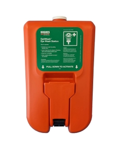 10 Gallon Portable Self-Contained Eyewash Station, Wall Mount, Gravity Fed