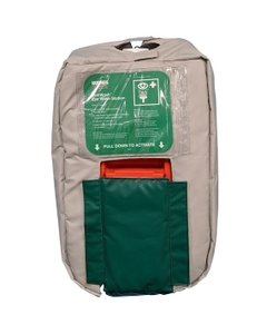 Insulated Jacket for 10 Gallon Portable Self-Contained Eyewash Station, Wall Mount, Gravity Fed
