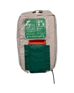 Heated Insulated Jacket for 10 Gallon Portable Self-Contained Eyewash Station, Wall Mount, Gravity Fed