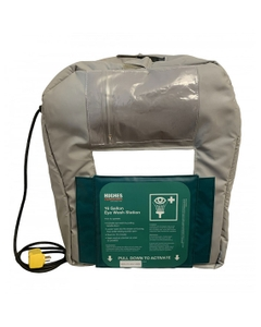 Heated Insulated Jacket for 16 Gallon Portable Self-Contained Eyewash Station, Gravity Fed