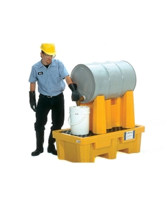 1-Drum Rack Containment System, No Drain - UltraTech 2386