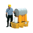 1-Drum Rack Containment System, With Drain - UltraTech 2387
