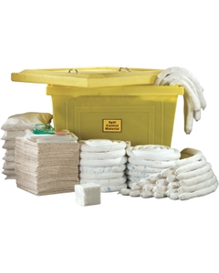Large Oil-Only Spill Kit w/Tote Cart on Wheels