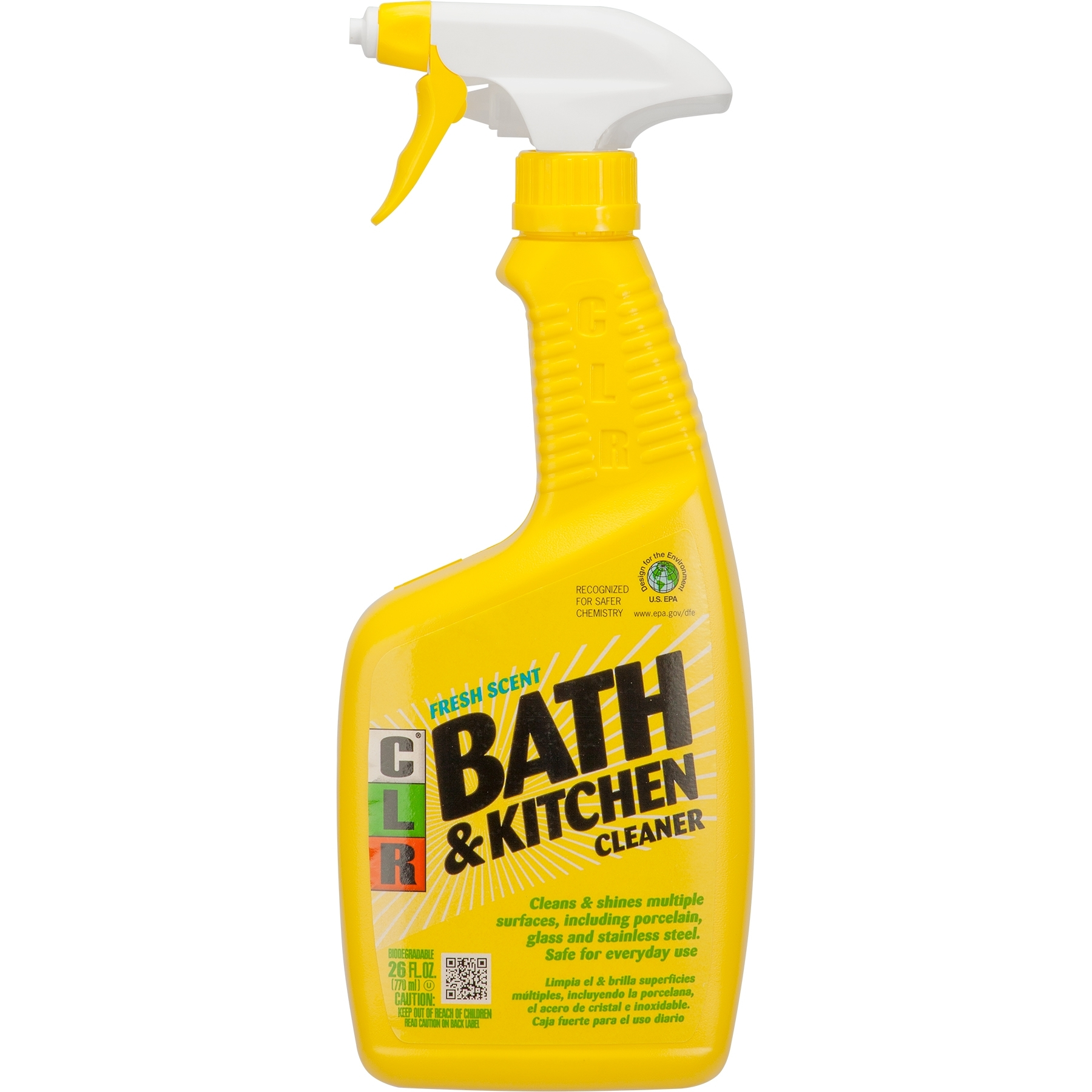 26 Oz Clr Bath And Kitchen Cleaner The Cary Company