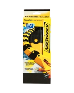 """1"""" Black and Yellow Ultra Sidewinder Cable Guard Extension"""
