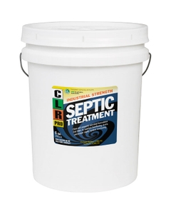 5 Gallon Pail of CLR Industrial Strength Septic System Treatment