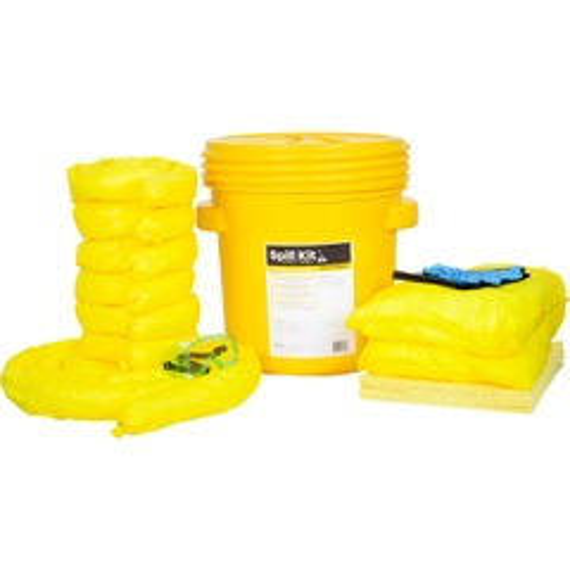 20 Gallon HazMat Spill Kit in Overpack Salvage Drum