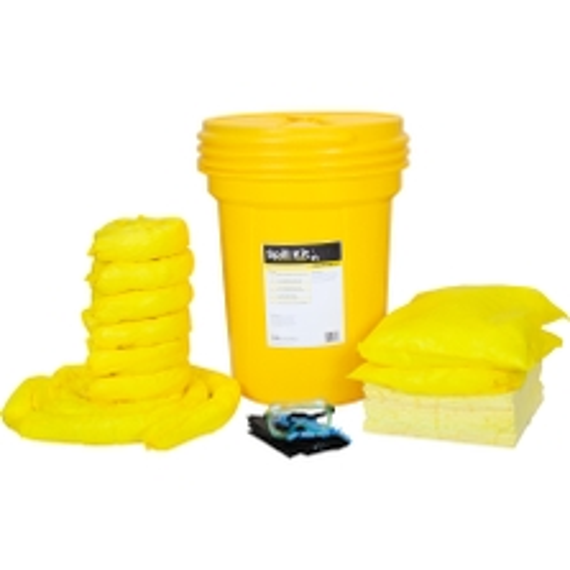 30 Gallon HazMat Spill Kit in Overpack Salvage Drum