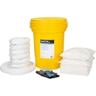 30 Gallon Oil-Only Spill Kit in Overpack Salvage Drum