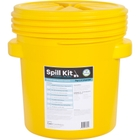 20 Gallon Oil-Only Spill Kit in Overpack Salvage Drum w/CHEMSORB® SS - Slick Stopper Oil-Only Spill Absorbent