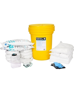 30 Gallon Oil-Only Spill Kit in Overpack Salvage Drum w/CHEMSORB® SS - Slick Stopper Oil-Only Spill Absorbent