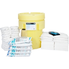 95 Gallon Oil-Only Spill Kit in Overpack Salvage Drum w/CHEMSORB® SS - Slick Stopper Oil-Only Spill Absorbent