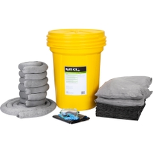 30 Gallon Universal Spill Kit in Overpack Salvage Drum