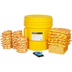 65 Gallon High-Visibility HazMat Spill Kit in Overpack Salvage Drum
