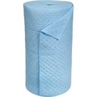 """30"""" x 150' Medium-Weight Oil-Only Absorbent Roll, Sonic Bonded, Blue (1 roll/bag)"""