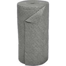 """30"""" x 150' Heavy-Weight Univ. Absorbent Roll, Sonic Bonded, Gray (1 roll/bag)"""