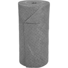 "30"" x 150' Medium-Weight Univ. Absorbent Roll, Sonic Bonded, Gray (1 roll/bag)"