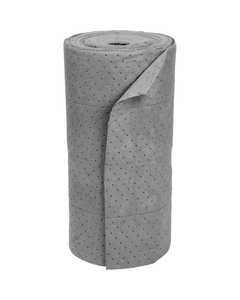 """30"""" x 150' Heavy-Weight Univ. Absorbent Roll, SteelSorb™, Gray (1 roll/bag)"""