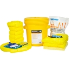 20 Gallon Acid Spill Kit in Overpack Salvage Drum w/CHEMSORB® AN - Acid Neutralizing Spill Absorbent