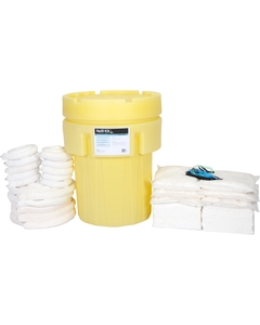 95 Gallon Oil-Only Spill Kit in Overpack Salvage Drum