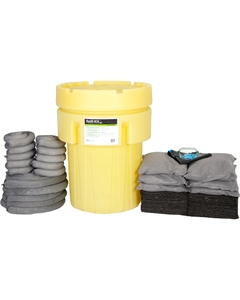 95 Gallon Universal Spill Kit in Overpack Salvage Drum