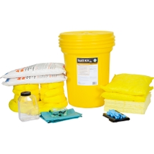 30 Gallon Acid Spill Kit in Overpack Salvage Drum w/CHEMSORB® AN - Acid Neutralizing Spill Absorbent