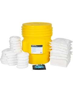 65 Gallon Oil-Only Spill Kit in Overpack Salvage Drum