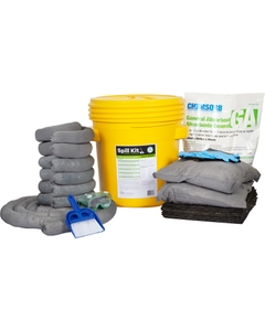 20 Gallon Universal Spill Kit in Overpack Salvage Drum w/CHEMSORB® GA - General Spill Absorbent