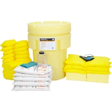 95 Gallon Acid Spill Kit in Overpack Salvage Drum w/CHEMSORB® AN - Acid Neutralizing Spill Absorbent