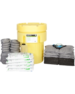 95 Gallon Universal Spill Kit in Overpack Salvage Drum w/CHEMSORB® GA - General Spill Absorbent