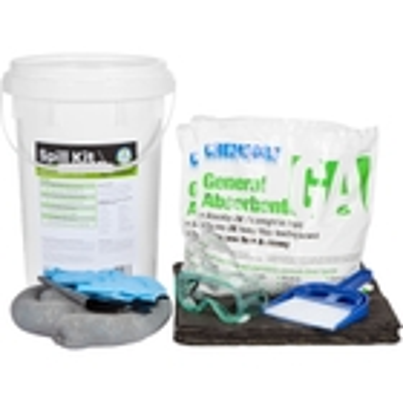 6 Gallon Universal Spill Kit w/CHEMSORB® GA - General Spill Absorbent
