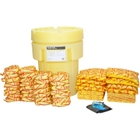 95 Gallon High-Visibility HazMat Spill Kit in Overpack Salvage Drum