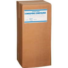 Enviro-Sweep™ Sweeping Compound, Water-Based, Sand (Grit), Red (100 lb. Box)