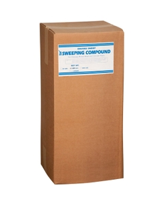 Enviro-Sweep™ Sweeping Compound, Water-Based, Sand (Grit), Red (50 lb. Box)