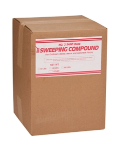 Sweeping Compound, Oil-Based/Sand (Grit), Red (100 lb. Box)