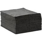 "15"" x 18"" Medium-Weight Univ. Absorbent Pads, Sonic Bonded, Gray (100 pads/bag)"