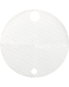 55 Gallon Drum White Oil-Only Top Absorbent Pads