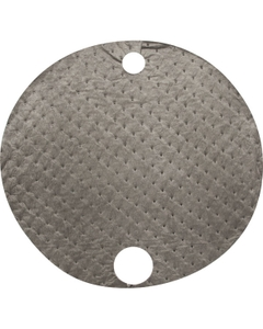 55 Gallon Drum Gray Universal Top Absorbent Pads