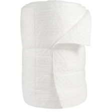 """30"""" x 150' Oil-Only White Heavy Sonic Bonded Absorbent Rolls"""