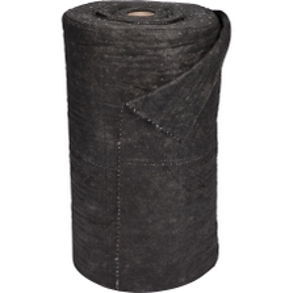 "30"" x 150' Universal Gray Heavy Sonic Bonded Absorbent Rolls"