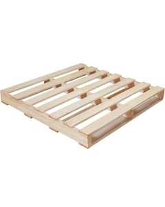 """42"""" x 42"""" Recycled Wood Pallet, 2-Way Fork Access, 1,500 lb. Capacity"""